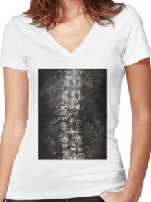 Death (Ant Temple) Women's Fitted V-Neck T-Shirt