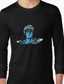Bits of the North Star (Blue) Long Sleeve T-Shirt