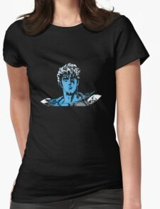 Bits of the North Star (Blue) Womens Fitted T-Shirt