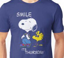 Penauts Smile is Thursday Unisex T-Shirt
