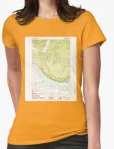 USGS Topo Map Washington State WA Nassa Point 242782 1985 24000 T-Shirt