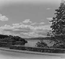 Lake Bala in B&W by David J Knight