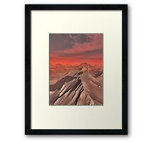 Mountains of Mars Framed Print