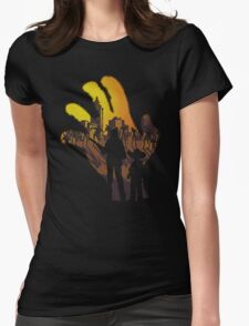 We are the walking dead. Womens Fitted T-Shirt