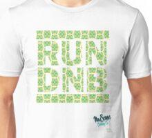 RUN DNB Design - FLORAL Unisex T-Shirt