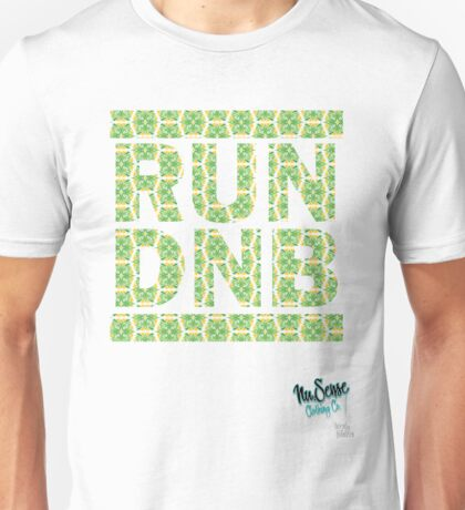 RUN DNB Design - FLORAL T-Shirt