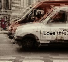 love london cabbies by Ingrid Beddoes