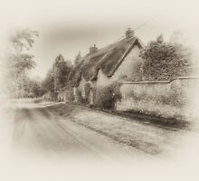 English country lane by MartinMuir