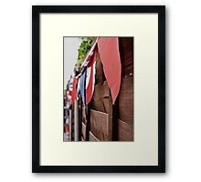Garden of a patriot  Framed Print