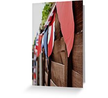 Garden of a patriot  Greeting Card