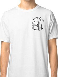 GG Allin Live Fast Die Tattoo Classic T-Shirt