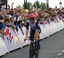 Elizabeth Armitstead Team GB - Womens Time Trial - London 2012 by Colin  Williams Photography