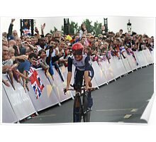 Elizabeth Armitstead Team GB - Womens Time Trial - London 2012 Poster