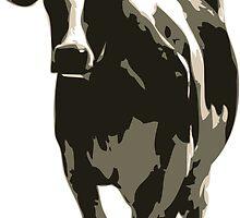 Cow in a Field 02 by JHMimaging