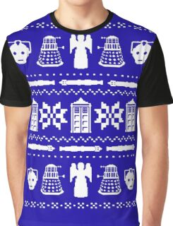 Doctor Who Christmas Sweater Graphic T-Shirt