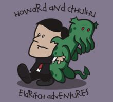 Howard and Cthulhu by Baznet