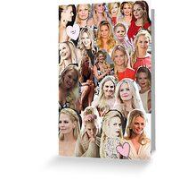 Jennifer Morrison - Collage Greeting Card