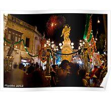 Mqabba Feast - Main Square Poster