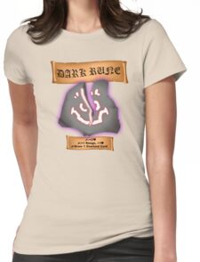 Overlord's Dark Rune Womens Fitted T-Shirt