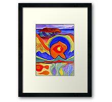 Nature-Lithosphere Framed Print