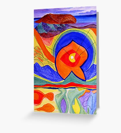 Nature-Lithosphere Greeting Card