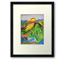 Nature- Biosphere Framed Print