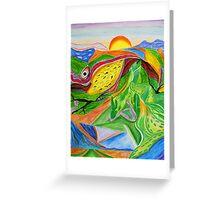 Nature- Biosphere Greeting Card