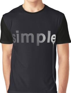 Simple Graphic T-Shirt