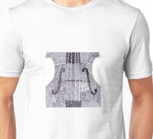 Zentagle Violin or Cello Music Unisex T-Shirt