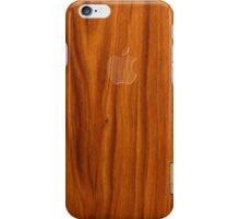 Oak wood cover iPhone Case/Skin