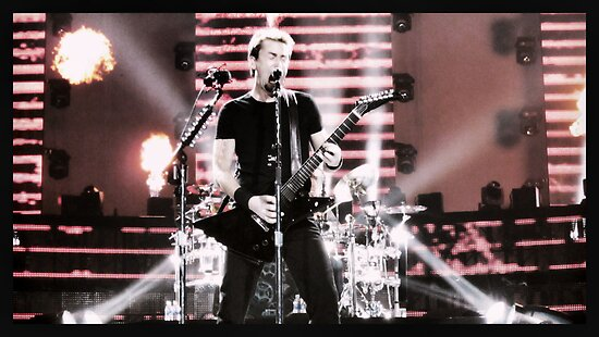 Chad Kroeger - Nickelback by Angela E.L. Clements
