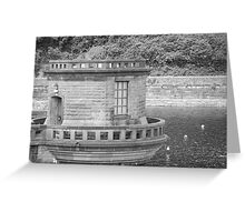 LADY BOWER  Greeting Card