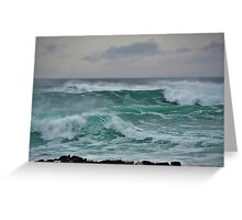 The Wild Atlantic Ocean of the coast of Doolin, Co Clare, Ireland Greeting Card