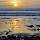 Atlantic Sunset of County Glare, Ireland by Shona McMillan