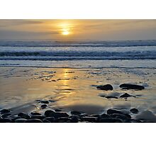 Atlantic Sunset of County Glare, Ireland Photographic Print