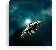 Wormhole Opening Canvas Print