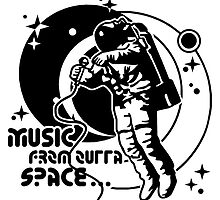 Music from outta Space by Cheesybee