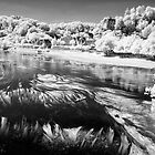Limeuil - infrared by Chris Tarling