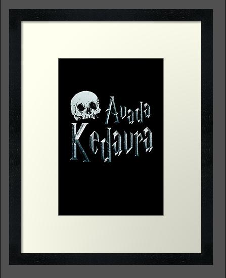 Avada Kedavra by Silvanne