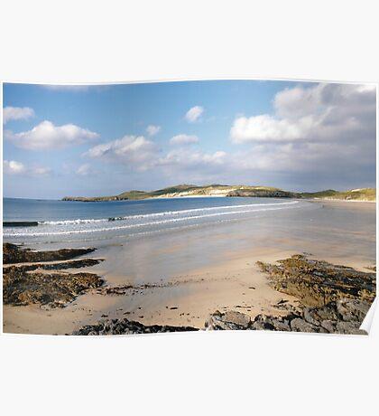 Balnakeil Bay, Near Durness, Sutherland, Scottish Highlands, Scotland Poster
