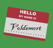 Hello My Name Is.... Voldemort. Baby Tee