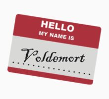 Hello My Name Is.... Voldemort. Kids Tee