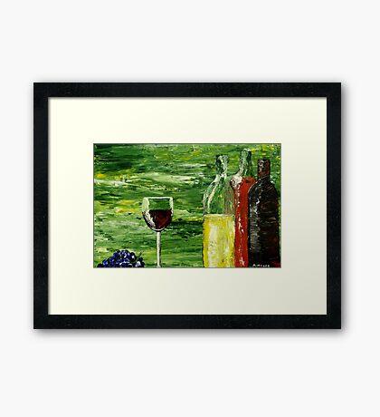 Sensual Nectar Framed Print