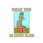 Break time on Easter Island. by pixelman