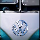 Blue VW by KitKatGibbs