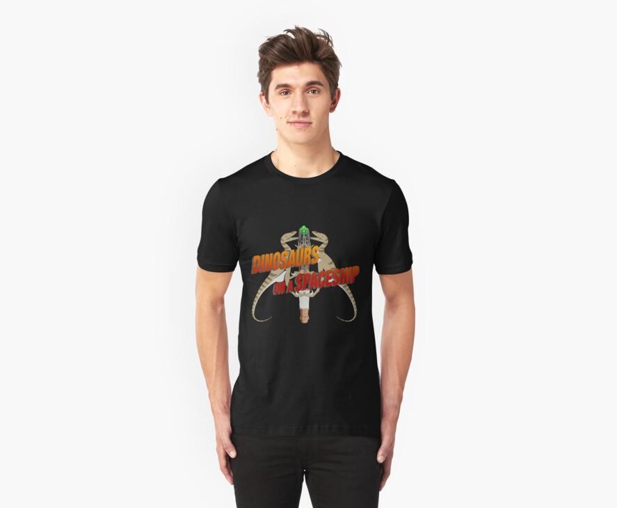 Dinosaurs on a Spaceship by hanrendar