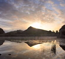 Cawfields Quarry, Hadrian's Wall by Joan Thirlaway