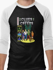 Clues From the Creeps Men's Baseball ¾ T-Shirt