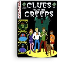 Clues From the Creeps Canvas Print