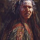 Ever Watchful, Crow, Native American Art, James Ayers Studios by JamesAyers